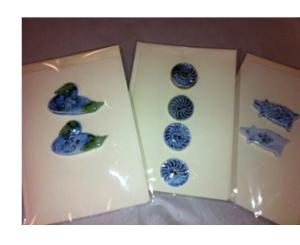 Rowena's porcelain buttons