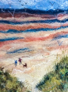 'A Windy Day by the Sea' by Jo Hyam