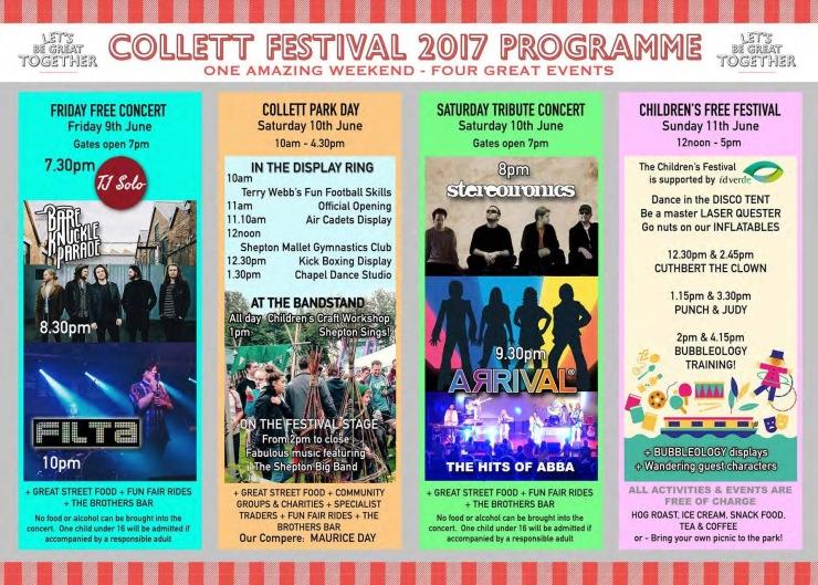 Collet park festival 2017