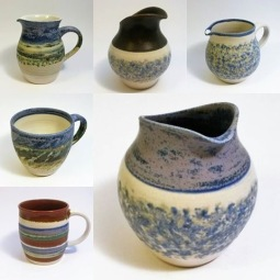 Craig Eyles selection of jugs and mugs